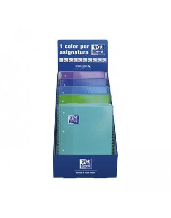 OXFORD EXPOSITOR 25 CUADERNO EUROBOOK1 80H 90GR 5X5 SURTIDO FRIOS - 400077054