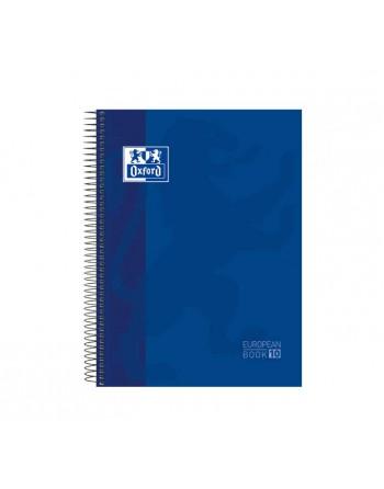 OXFORD CUADERNO EUROBOOK 10 A4 150H 5X5 90GR TAPA EXTRADURA SURTIDO - 400118931