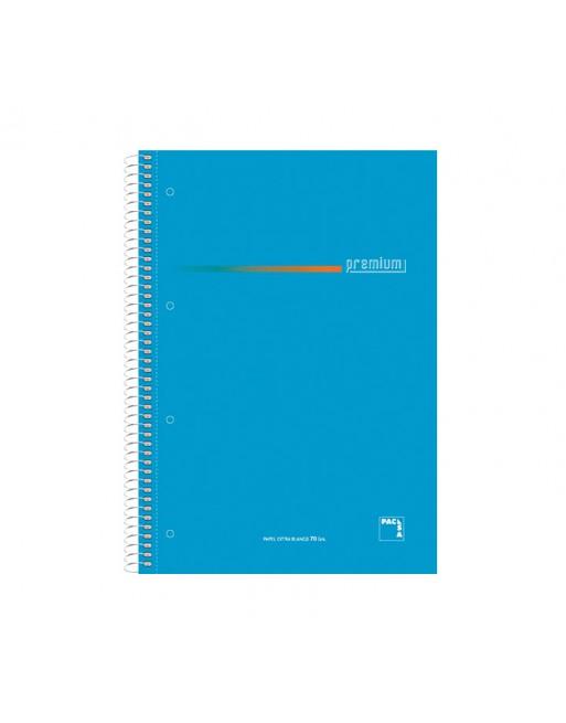 PACSA CUADERNO EUROBOOK5 A4 160H 70G 5X5 TAPA EXTRADURA SURTIDO - 16403
