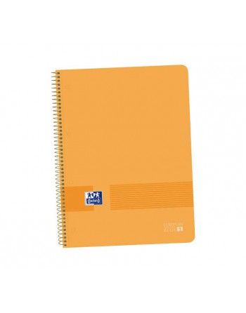 M.RIUS NOTEBOOK 5 POLIPROPILENO 5X5 A4 120H EMOTIONS VERDE - 46071