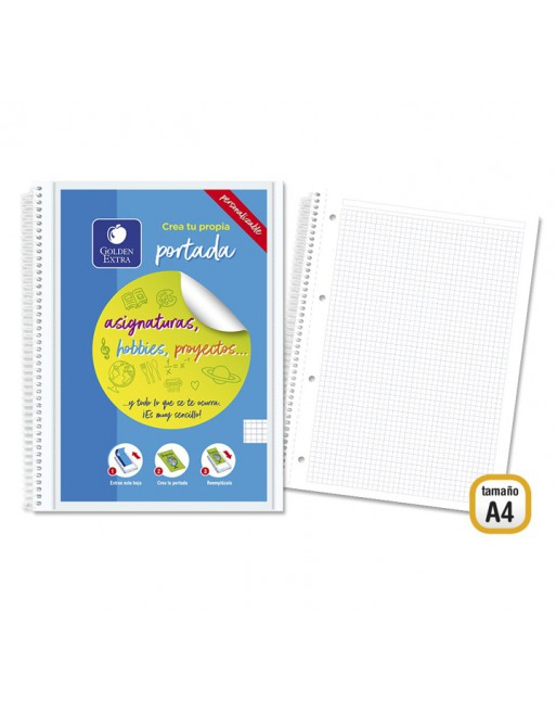 M.RIUS NOTEBOOK 5 POLPROPILENO HORIZONTAL A4 120H EMOTIONS VERDE - 48568