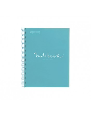 M.RIUS NOTEBOOK 1 POLPROPILENO 5X5 A4 80H EMOTIONS CIELO - 46058