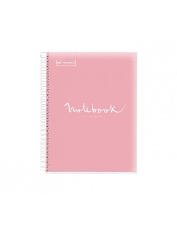M.RIUS NOTEBOOK 8 PP 5X5 A4 200H EMOTIONS ROSA - 46083
