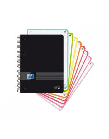 M.RIUS NOTEBOOK 8 PP 5X5 A5 160H EMOTIONS AZUL FORM - 46107