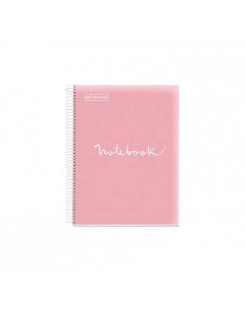 M.RIUS NOTEBOOK 8 PP 5X5 A5 160H EMOTIONS ROSA - 46110