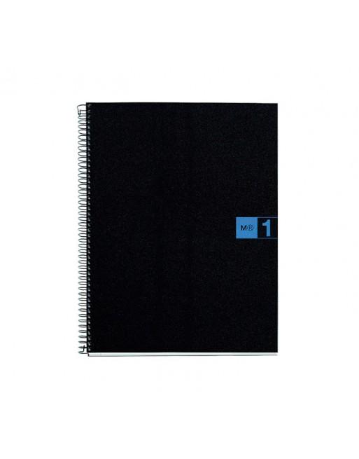 M.RIUS CUADERNO NOTEBOOK 1 A5 80H AZUL - 2651