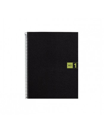 M.RIUS CUADERNO NOTEBOOK 1 A5 80H VERDE - 2654