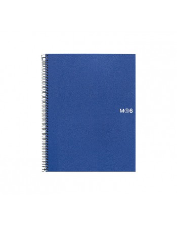 M.RIUS CUADERNO NOTEBOOK 6 A4 150H BASIC AZ - 2826