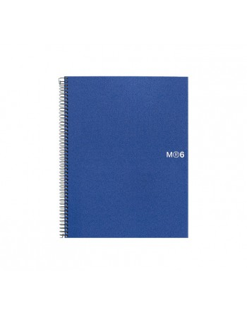 M.RIUS CUADERNO NOTEBOOK 6 A5 150H BASIC AZ - 2829