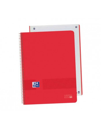 OXFORD CUADERNO MICROPERFORADO EBK1 B Y C A4+ 80H 5X5 ICE MINT 4000882 - 400088227