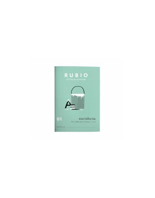 RUBIO PACK 10 CUADERNOS ESCRITURA 01 - C01