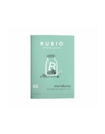 RUBIO PACK 10 CUADERNOS ESCRITURA 02 - C02
