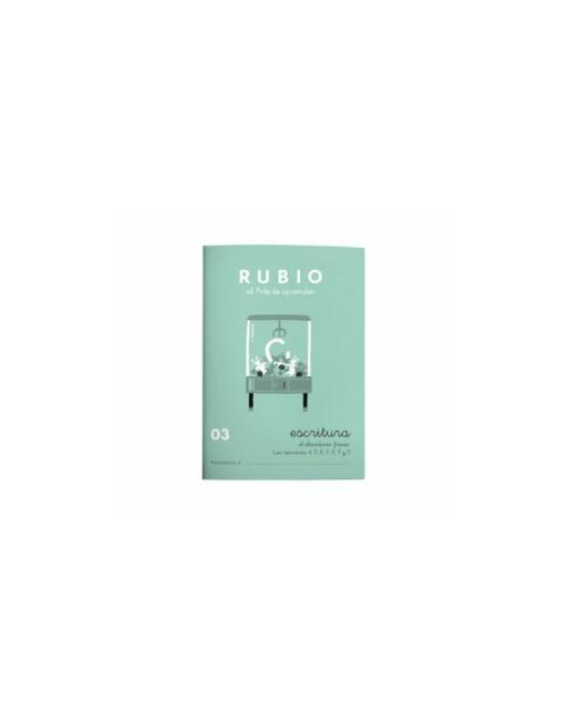 RUBIO PACK 10 CUADERNOS ESCRITURA 03 - C03