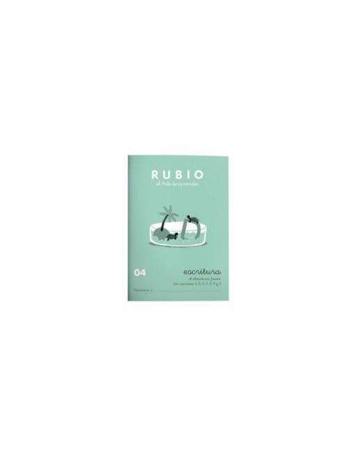 RUBIO PACK 10 CUADERNOS ESCRITURA 04 - C04