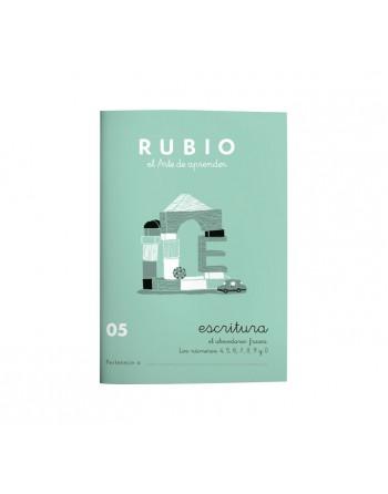 RUBIO PACK 10 CUADERNOS ESCRITURA 05 - C05