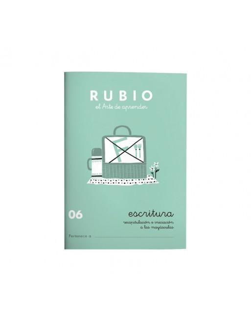RUBIO PACK 10 CUADERNOS ESCRITURA 06 - C06