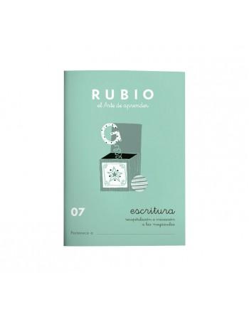 RUBIO PACK 10 CUADERNOS ESCRITURA 07 - C07