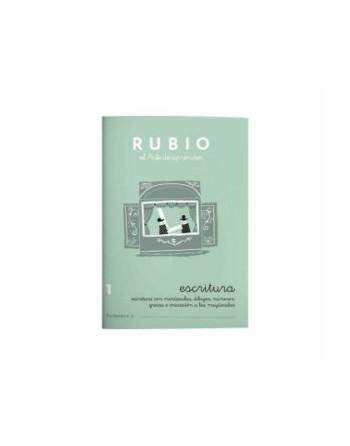 RUBIO PACK 10 CUADERNOS ESCRITURA 1 - C1