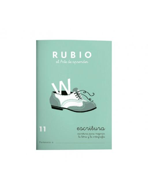RUBIO PACK 10 CUADERNOS ESCRITURA 11 - C11