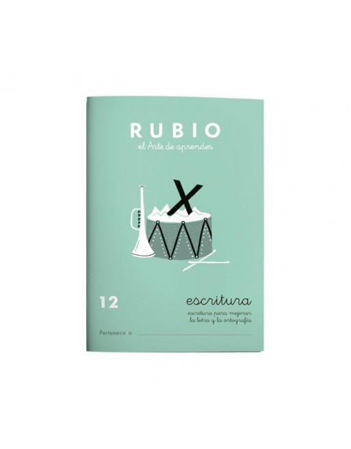 RUBIO PACK 10 CUADERNOS ESCRITURA 12 - C12