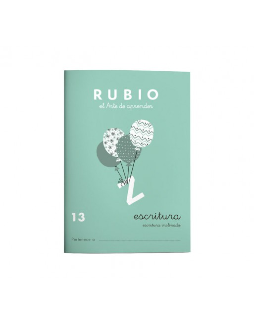 RUBIO PACK 10 CUADERNOS ESCRITURA 13 - C13
