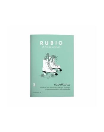 RUBIO PACK 10 CUADERNOS ESCRITURA 2 - C2