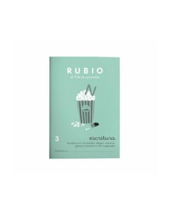 RUBIO PACK 10 CUADERNOS ESCRITURA 3 - C3