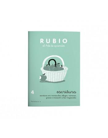 RUBIO PACK 10 CUADERNOS ESCRITURA 4 - C4