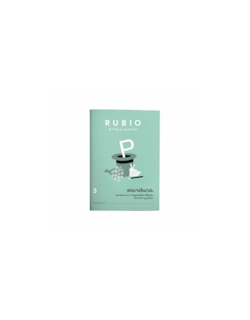 RUBIO PACK 10 CUADERNOS ESCRITURA 5 - C5