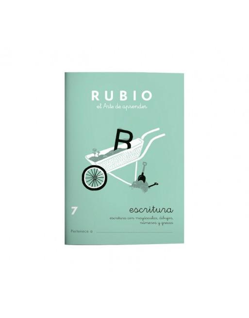 RUBIO PACK 10 CUADERNOS ESCRITURA 7 - C7