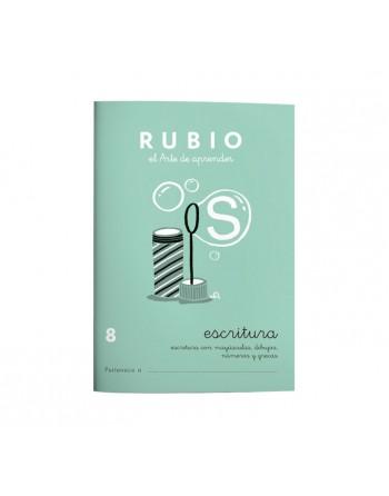 RUBIO PACK 10 CUADERNOS ESCRITURA 8 - C8