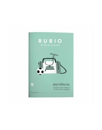 RUBIO PACK 10 CUADERNOS ESCRITURA 9 - C9