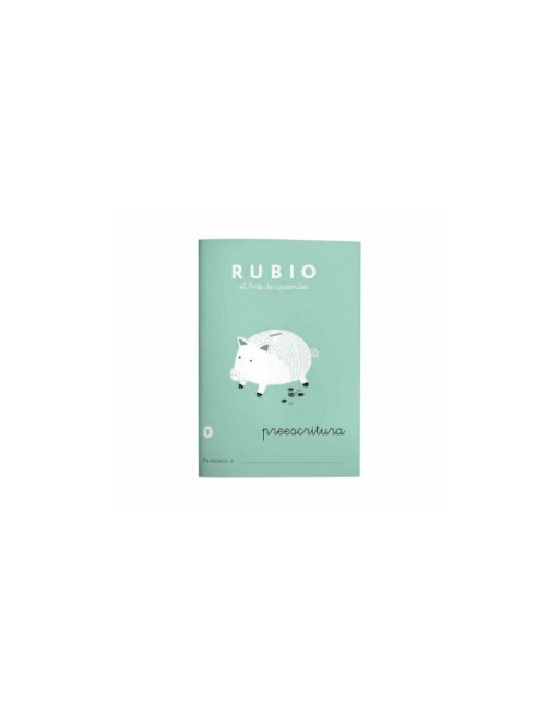 RUBIO PACK 10 CUADERNOS PREESCRITURA 0 - C0