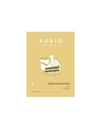 RUBIO PACK 10 CUADERNOS PROBLEMAS 1 - P1