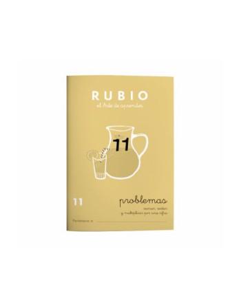 RUBIO PACK 10 CUADERNOS PROBLEMAS 11 - P11
