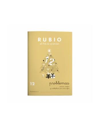 RUBIO PACK 10 CUADERNOS PROBLEMAS 12 - P12