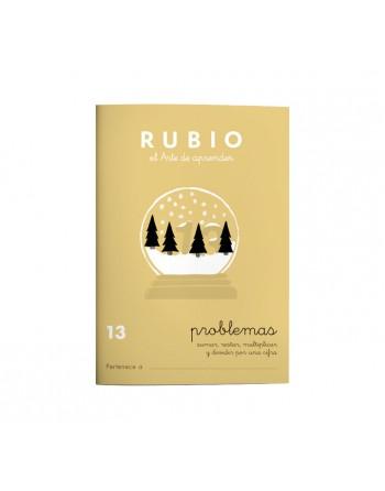 RUBIO PACK 10 CUADERNOS PROBLEMAS 13 - P13