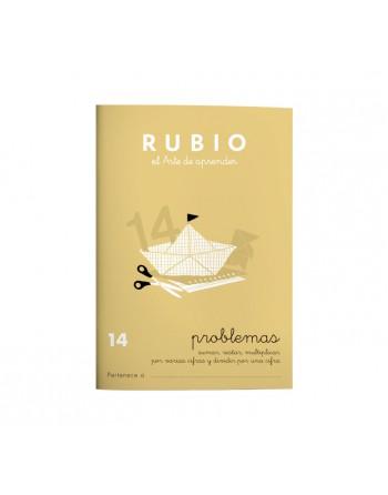 RUBIO PACK 10 CUADERNOS PROBLEMAS 14 - P14
