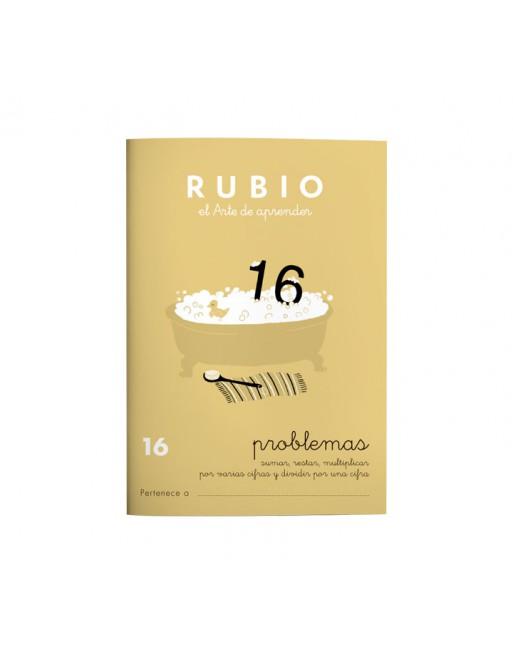 RUBIO PACK 10 CUADERNOS PROBLEMAS 16 - P16