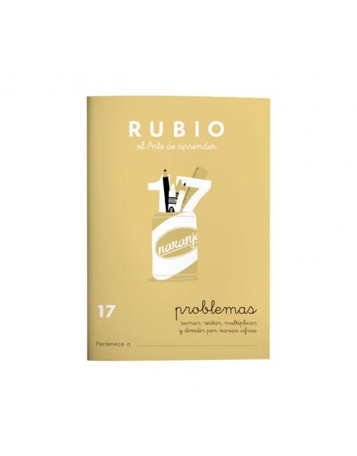 RUBIO PACK 10 CUADERNOS PROBLEMAS 17 - P17