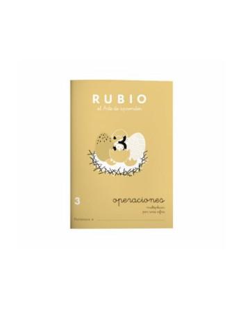 RUBIO PACK 10 CUADERNOS PROBLEMAS 3 - P3