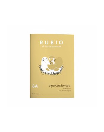RUBIO PACK 10 CUADERNOS PROBLEMAS 3 - P3A