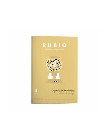 RUBIO PACK 10 CUADERNOS PROBLEMAS 4 - P4