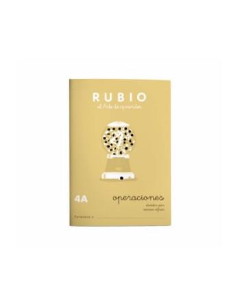 RUBIO PACK 10 CUADERNOS PROBLEMAS 4 - P4A