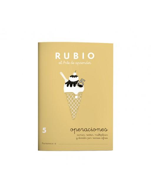 RUBIO PACK 10 CUADERNOS PROBLEMAS 5 - P5