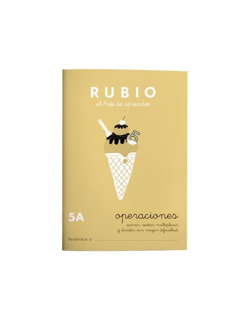 RUBIO PACK 10 CUADERNOS PROBLEMAS 5 - P5A