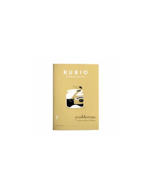 RUBIO PACK 10 CUADERNOS PROBLEMAS 7 - P7