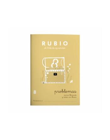 RUBIO PACK 10 CUADERNOS PROBLEMAS 8 - P8