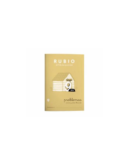 RUBIO PACK 10 CUADERNOS PROBLEMAS 9 - P9