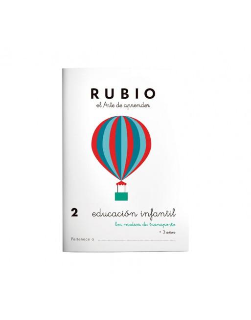 RUBIO PACK 10 CUADERNOS EDU INFANTIL - PR2
